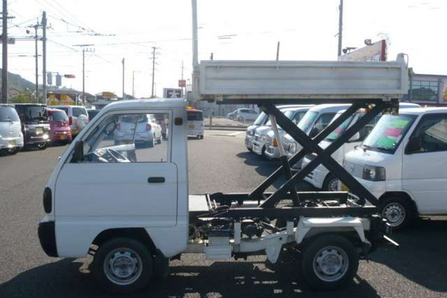 1991 Suzuki Carry Mini Truck Scissor Lift Substar Inc ⓿