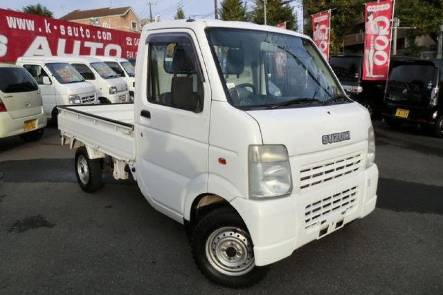cheap suzuki carry mini trucks for sale import suzuki cary from japanese used car dealer. Black Bedroom Furniture Sets. Home Design Ideas
