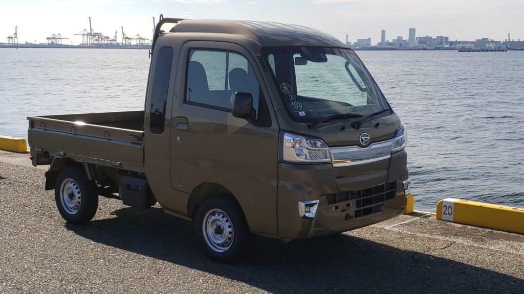 Daihatsu Hijet Mini Truck current generation.